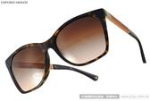 EMPORIO ARMANI 太陽眼鏡 EA4075F 502613 (琥珀-棕) 都會時尚熱銷款 # 金橘眼鏡