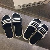 拖鞋男夏時尚外穿韓版潮軟底室外沙灘涼拖防滑一字拖 黛尼時尚精品