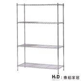 電鍍3尺層架/DIY自行組裝(20SP/416-6)/H&D東稻家居