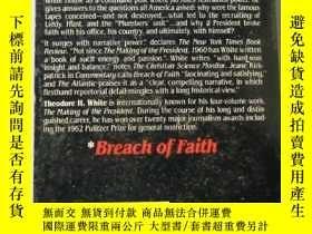 二手書博民逛書店Breach罕見of faith (英文原版口袋書)Y10981