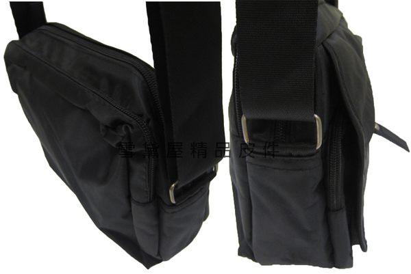 ~雪黛屋~ITALI DUCK 斜側包小容量二層主袋肩側中性款男女全齡適用防水尼龍布材質台灣製造R315