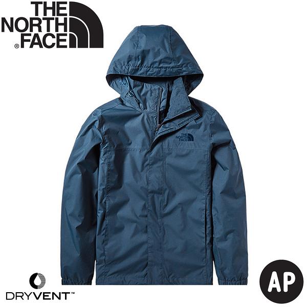 【The North Face 男 DryVent防水保暖外套AP《蒙特瑞藍》】4U5F/衝鋒衣/防風外套