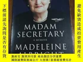 二手書博民逛書店Madam罕見Secretary: A memoir 女祕書:回