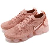 Nike Wmns Air VaporMax Flyknit 2 粉紅 乾燥玫瑰 二代 飛線編織 大氣墊 運動鞋 女鞋【PUMP306】 942843-600