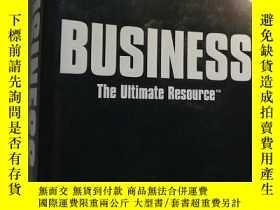 二手書博民逛書店Business:罕見The Ultimate Resource