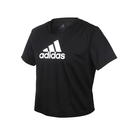ADIDAS 女短袖T恤(亞規 吸濕排汗 慢跑 路跑 運動 上衣 愛迪達≡體院≡ GL3830