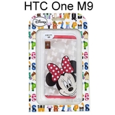 迪士尼透明軟殼 HTC One M9 / S9 [大頭] 米妮【Disney正版授權】