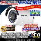 【台灣安防】監視器 HIKVISION 室內外槍型 WDR寬動態  防水 TVI 1080P 26顆藍光攝影機 DVR