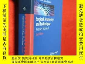 二手書博民逛書店Surgical罕見Anatomy and Technique: