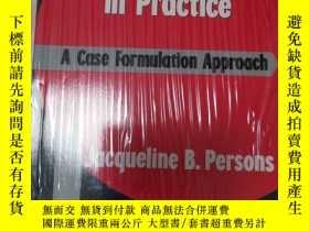 二手書博民逛書店Cognitive罕見Therapy In Practice: A Case Formulation Approa