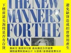 二手書博民逛書店精裝原版英文書THE罕見NEW MANNERS FOR THE