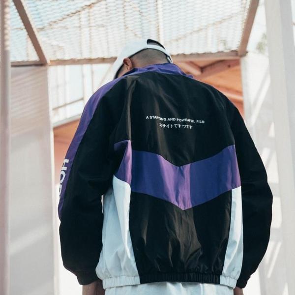 棒球外套 夾克 歐美街頭嘻哈運動外套