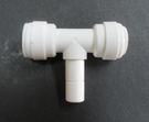 水電接頭.淨水器接頭.塑膠快速接頭ZQSBT6066,3分管3分管3分叉T字接頭,55元1個