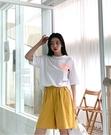 [預購+現貨]韓國-腰側邊釦5分褲(4色)-褲-74002820 -pipima-53