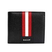 【BALLY】TALIKYLT 防刮牛皮短夾(黑) 6221881 001
