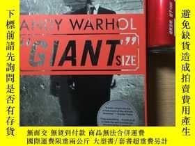 二手書博民逛書店Andy罕見Warhol Giant SizeY397575 Andy Warhol Phaidon pres