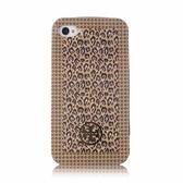 [破盤出清價]TORY BURCH豹紋塗鴉iPhone4/4S手機保護殼(駝色)151016