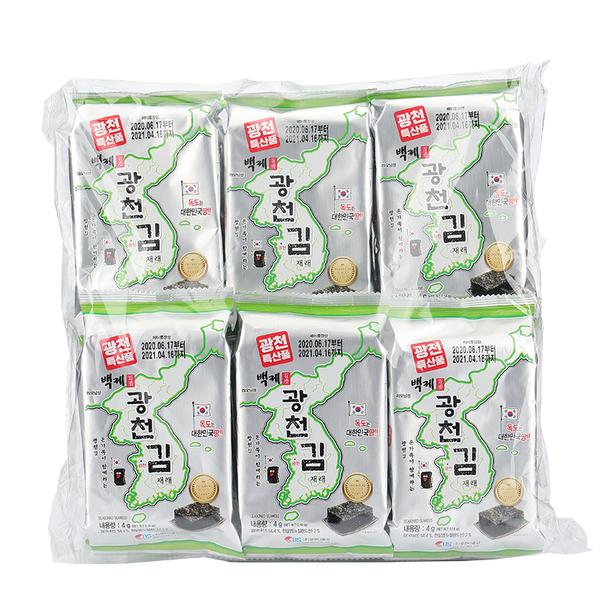 韓國廣川傳統烤海苔48g【庫奇小舖】