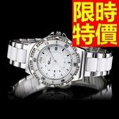陶瓷錶-清新甜美個性女手錶3色55j49【時尚巴黎】