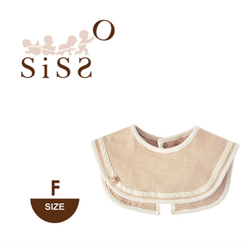 【SISSO有機棉】法式經典海軍領圍兜 F