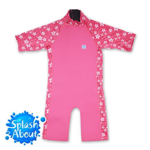 英國 Splash About 潑寶 UV Combie 兒童防寒泳裝 - 陽光櫻花