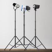 攝影燈架閃光燈加固款影棚通用280燈架三腳架便攜LED背景燈架折疊聖誕節