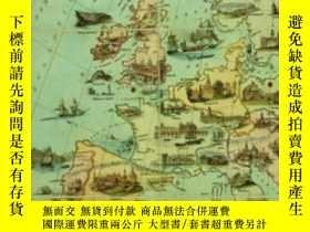 二手書博民逛書店An罕見Atlas Of The European Novel, 1800-1900Y256260 Franc