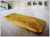 佐和陶瓷餐具~【毛巾盤(花金)*華麗貴氣毛巾盤】(38P22184-1106)