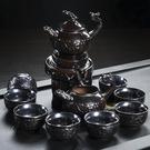 茶具套裝茶道家用半自動創意陶瓷...