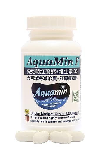 赫而司 愛克明Aquamin-F愛爾蘭海藻鈣+維生素D3(60顆/罐)