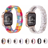 彩繪石錶帶 Apple Watch Series 錶帶 S6錶帶 S5錶帶 S4錶帶 S3錶帶 蘋果錶帶 38mm 40mm 42mm 44mm
