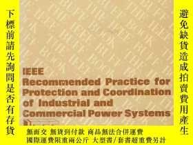 二手書博民逛書店IEEE罕見recommended practice for protection and coordinatio