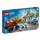 60245【LEGO 樂高積木】城市系列 City- 警察巨輪卡車搶案(362pcs)