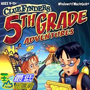 [106美國暢銷兒童軟體] Cluefinders 5th Grade Adventures - The Secret of the Living Volcano