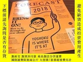 二手書博民逛書店The罕見forecast 2018Y429456