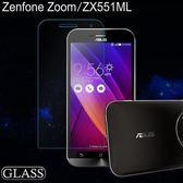 華碩 Zenfone Zoom ZX551ML 5.5吋鋼化膜 ASUS ZX551ML9H 0.3mm 弧邊耐刮防爆防污高清玻璃膜 保護貼