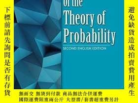 二手書博民逛書店Foundations罕見Of The Theory Of ProbabilityY256260 A.n. K
