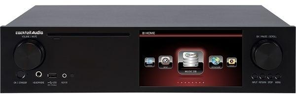 【台北視聽音響‧名展影音/台北館】Cocktail Audio X35 系列 All-In-One 串流擴大機( 贈2T硬碟 )