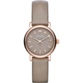 MARC BY MARC JACOBS MBM1318 皮革 灰色錶盤手錶