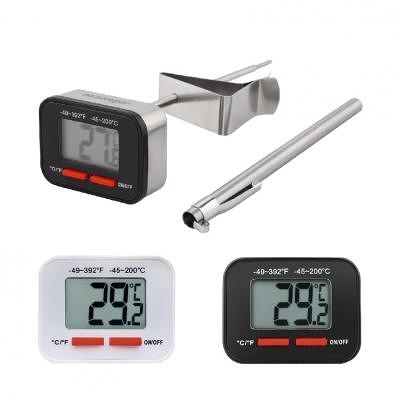 溫度計 - AKIRA 數位溫度計 DT-200 -(顏色:白色、黑色)-【良鎂咖啡精品館】