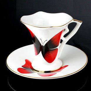 蝶戀杯 咖啡杯
