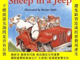二手書博民逛書店Sheep罕見In A JeepY256260 Shaw, Nancy E.  Apple, Margot (
