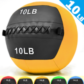 4.5KG舉重量訓練球wall ball負重力10LB軟式藥球復健球實心球不穩定平衡訓練運動器材推薦哪裡買ptt