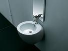 【麗室衛浴】洗臉盆 英國 LIVING  BV-2200  懸吊式半柱盆