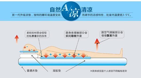 夏季避暑降溫冰墊凝膠涼墊坐墊沙發墊靠背墊夏日冰墊冰枕冰床墊 -3556002