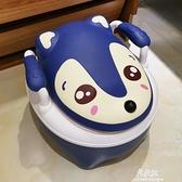 兒童馬桶坐便器女嬰幼兒男尿盆小孩1-3-6歲加大號便盆寶寶座便器 易家樂
