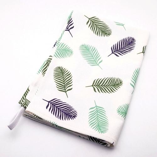 Tea towel-emalco春天彩繪多用途純棉擦拭布60x45cm-波蘭製造