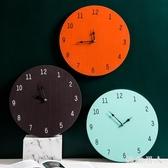 北歐ins 客廳家用 掛鐘餐廳  藝術簡約時鐘掛墻網紅鐘表LJ8847 【極致男人】