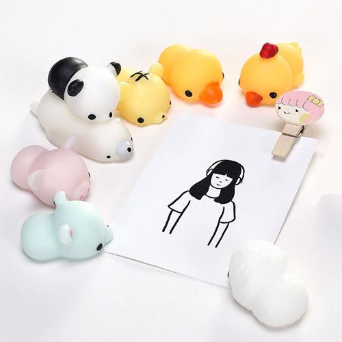 【11月萊這199免運】日系卡通動物創意減壓球 解壓玩具 發洩 舒壓 捏捏樂