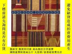 二手書博民逛書店African罕見Textiles: The Karun Tha